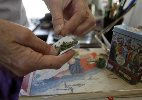 Uruguay Government Plans to Sell Marijuana to Fight Crime and Addiction Uruguay unveiled a plan Wednesday to allow government-controlled sales of marijuana to curb drug-related crime. Under the plan backed by President Jose Mujica's leftist administration, only the government will be allowed to sell marijuana, in the form of cigarettes, to adults who register on a government database, allowing officials to keep track of their purchases over time. Continue reading