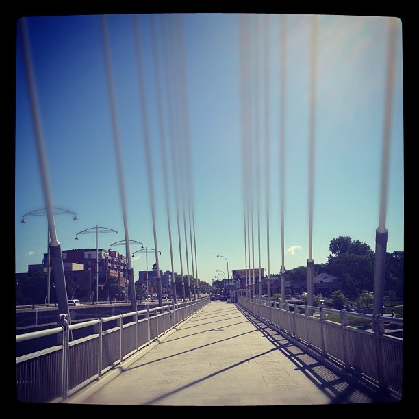 Our bridge (Taken with Instagram)