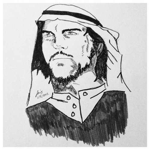 #Saudi #Guevara #Manga #Drawing (Taken with Instagram)