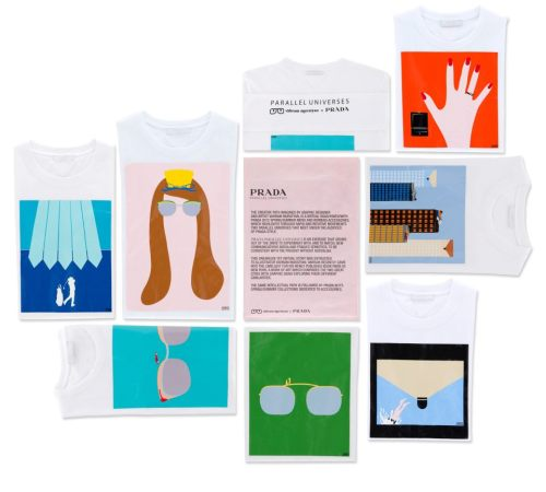 Prada Parallel Universes / phase 2 a T-shirt project by Vahram Muratyan . available from mid-July