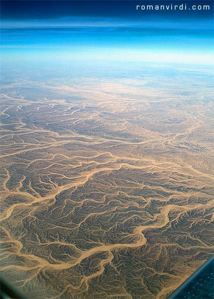 polarscope:  Aerial shot of the Sinai Desert (Egypt) by Roman Virdi  Egypt!! Wow!