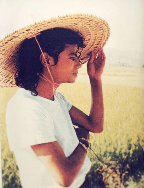 thetpr:  Michael looking out into fields