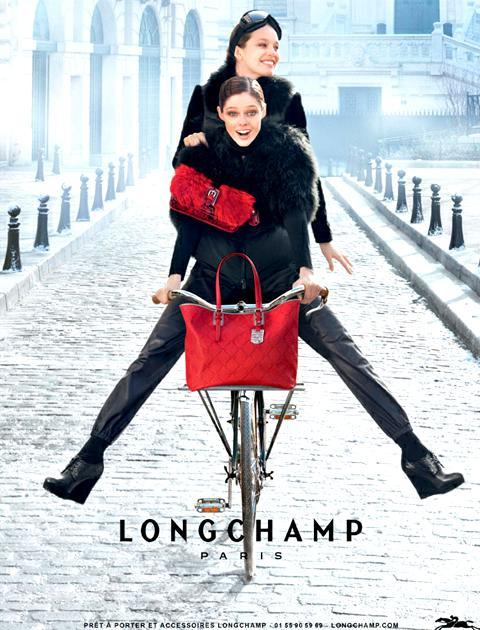 Coco Rocha and  Emily Didonato for Longchamp F/W 2012 campaign  shot by Max Vadukul