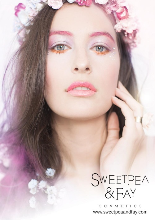 Advertisement for; Sweetpea & Fay, by Lina Toro