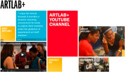 "ARTLAB+ programs give technology and artist mentorship to teens ages 13-19 who want to socialize, experiment with media, and sharpen their critical thinking and digital literacy. Teens choose their own activities and projects to produce with professional video and photo gear, music and recording equipment, video games and graphic design resources. Inspired by the collection and temporary exhibitions, a staff of artist mentors serve school groups during the day and drop-in teens after school and on weekends. Teens have the opportunities to create clubs, plan events, join production teams and learn in workshops.  Weekend and weeklong workshops are held year-round to accommodate a wide variety of schedules. We welcome all teens, regardless of experience. Visit http://artlabplus.si.edu for more information. The ARTLAB+ space is funded, as a member of the YOUmedia Network, by the MacArthur Foundation. ARTLAB+ programs are funded by the Pearson Foundation, in partnership with the New Learning Institute, along with funds from the Knight Foundation, Vivian and Elliot I. Pollock and internal Smithsonian Institution funds from the Youth Access Grant. The Hirshhorn hosted several Mobile Learning workshops in the summer of 2010 and is featured in a PBS documentary called ""Digital Media: New Learners of the 21st Century."" Check out this feature on our ARTLAB+Game Design workshop."