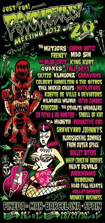 Just for Fun Presents Psychobilly meeting 2012
