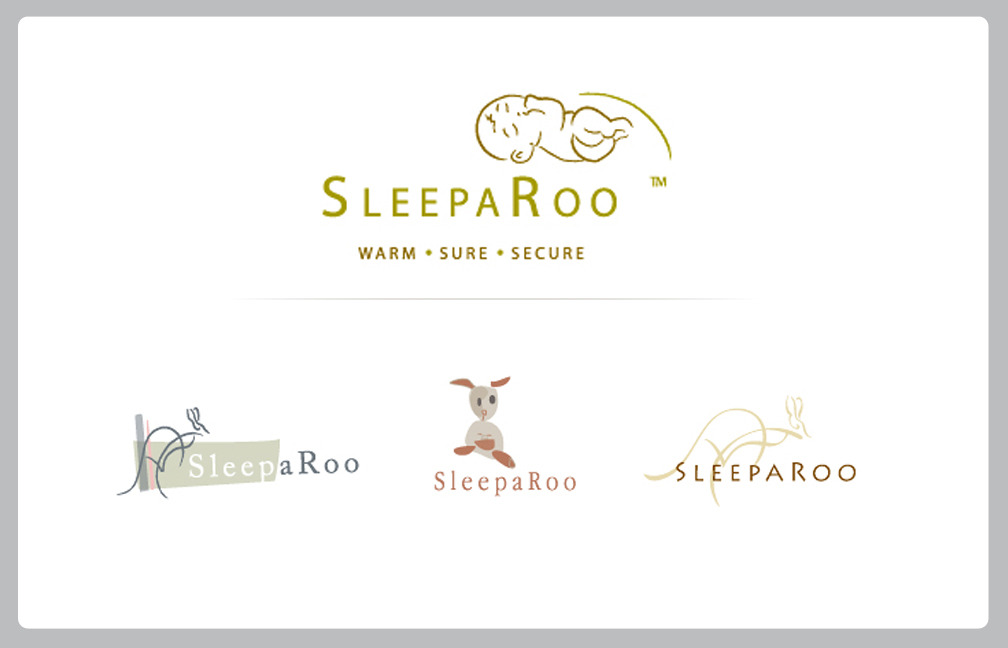 BRAND IDENTITY: LOGOSSLEEPAROO  From concepts To final artwork.  Working out of Brantford ON, MINDSPIN STUDIO