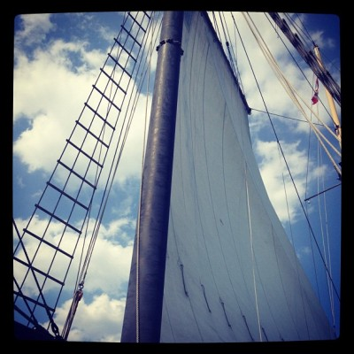I love #sailing ! #ship #summer #breeze #toronto #hot  (Taken with Instagram)