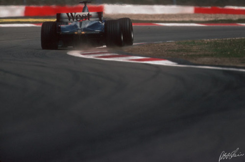 Mika at the Ring, 2001.