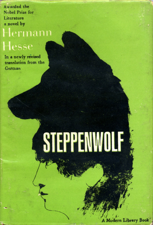Steppenwolf by Hermann Hesse • Random House, 1963