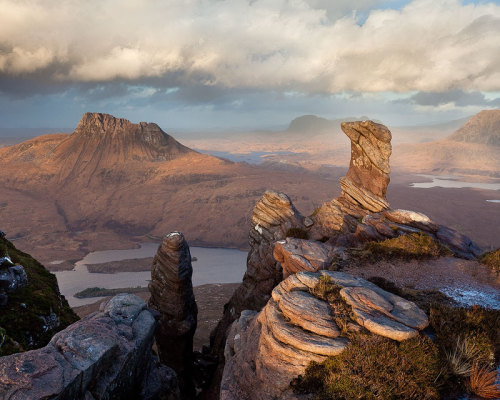 Sgurr Tuath Rock Formations by ~Alex37