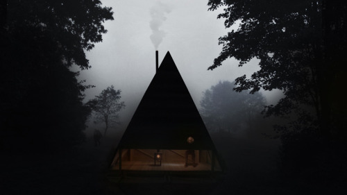 Dezeen » Blog Archive » Black Lodge by Jägnefält Milton @dezeen.com