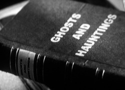 scary Black and White creepy horror book haunted ghosts ghosts and hauntings