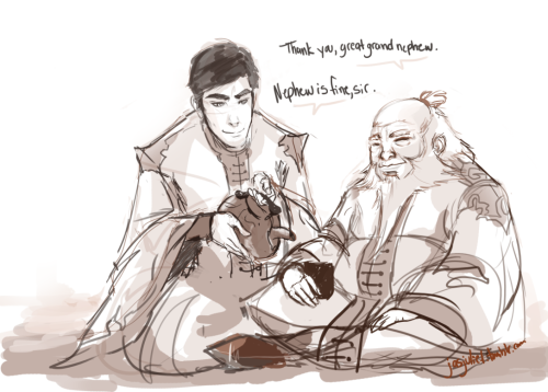 jasjuliet:  All my Iroh I and II feelings.