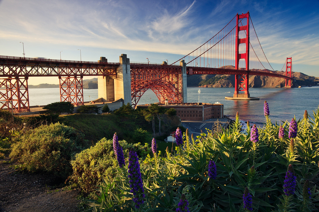 The Golden Gate Bridge (by Zolashine)