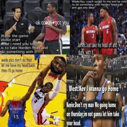 isparklesolickmyglitter:  This ishh is TOO funny! LMBOOOO! #TeamHeat :D
