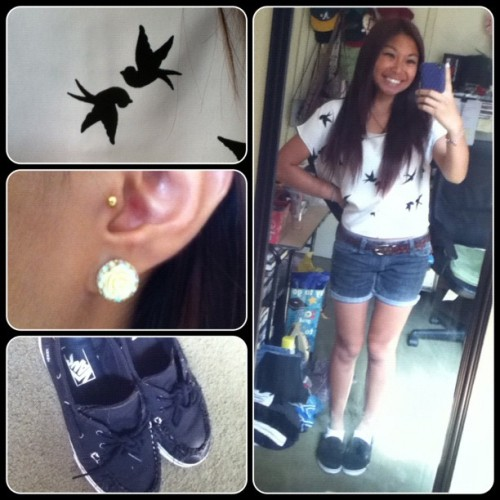 #ootd for #delmarfair2012 :))) woohoo!! (Taken with Instagram)