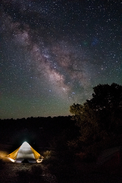 camping under the milky way on Flickr.grandview campground -  white mountains, californiafacebook .prints .twitter