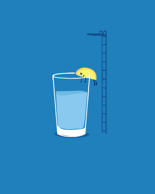 threadless:  What a delicious failure. Score Lemondrop by Nathan W. Pyle! Your scores tell us what you want printed!