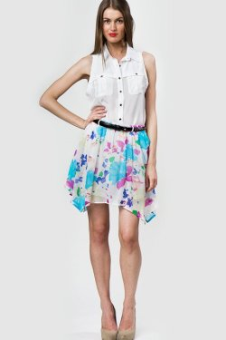 ANOTHER HOT DAY! cool off in the Justine Skirt!! XOXO