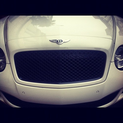 The car of my dreams #love #bentley #white #classy #beautiful #instagood #igers (Taken with Instagram)