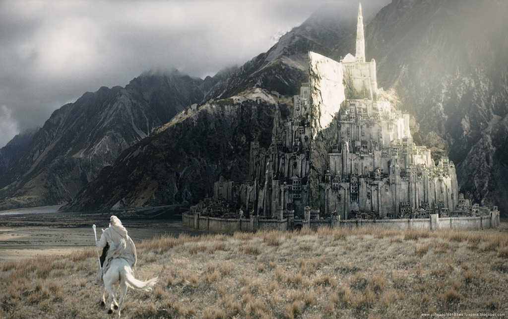 Gandalf And Minas Tirith.