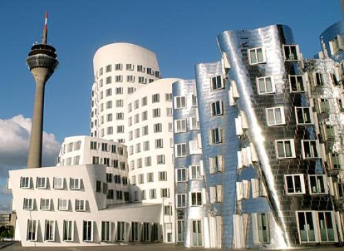 http://atlasobscura.com/place/gehry-buildings-dusseldorf-harbor this shit cray