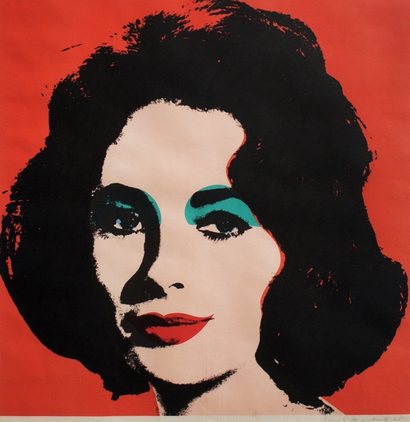 One of Andy Warhol's first screen prints, Liz is especially important because it marks the beginning of the artist's fascination with celebrity imagery in his print works. From an edition of approximately 300, this print was created in 1964-65 and was published by Leo Castelli Gallery.