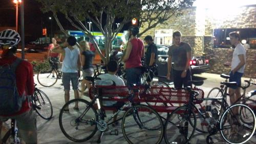 swededfish:  Last weeks Ride to cookout!