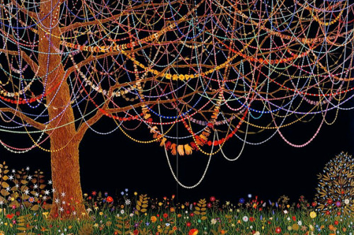 Fred Tomaselli (via It's Nice That)