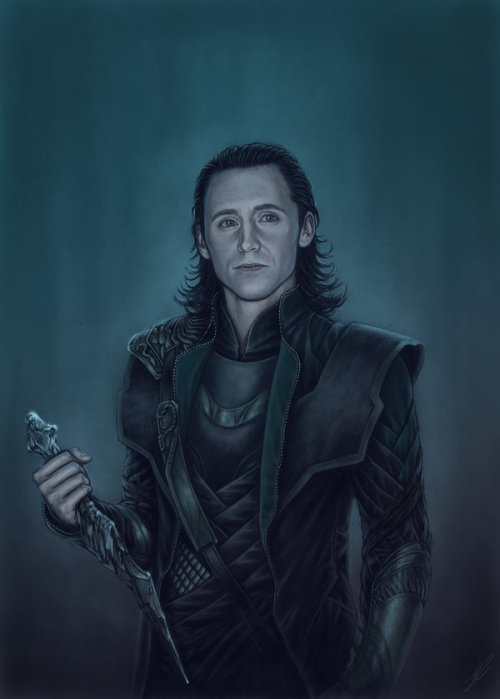 cuulstuff:  I am Loki of Asgard… by *Nimloth87
