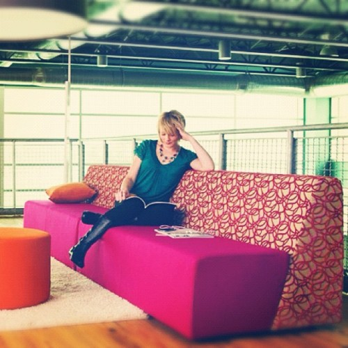 My new couches!! (Taken with Instagram)