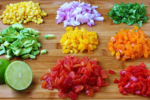 a rainbow of produce! #seasonalsuperfoods recipes & tips here!