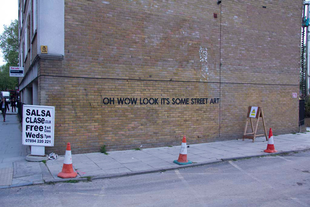 Street Artist Mobstr Hand-Paints Pithy Messages in Block Letters