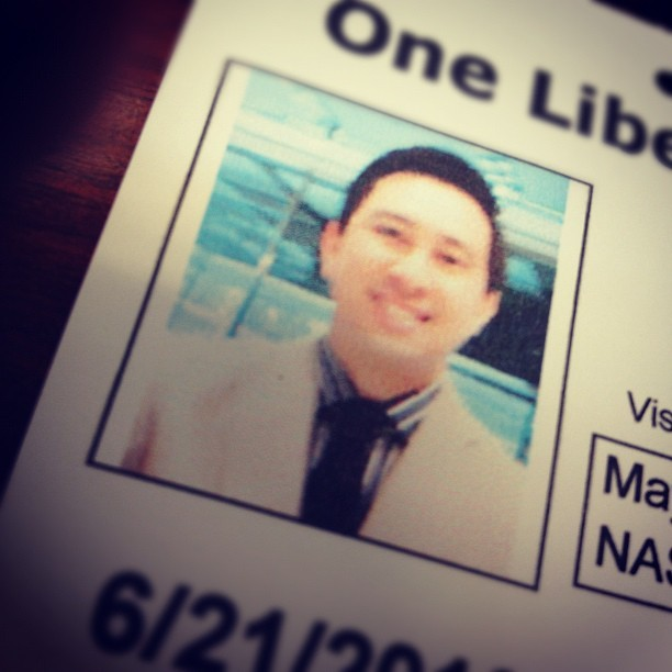#wiwt: big cheesy smile for the security cams #gpoy (Taken with Instagram)