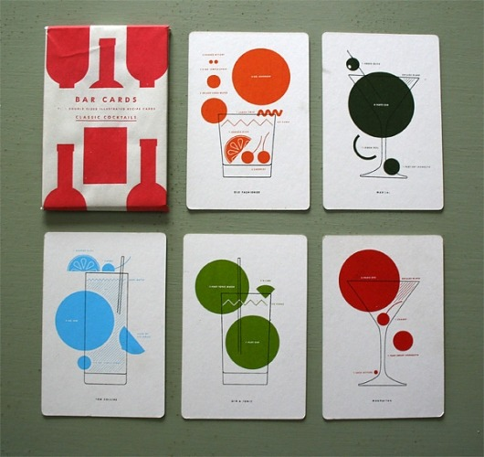 (via Designspiration — 13. Bar Cards : neilhubertdotcom)