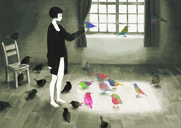 by Jun Kumaori  Hello afternoon art.