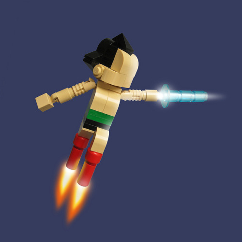 Lego Astro Boy by Fredoichi on Flickr.