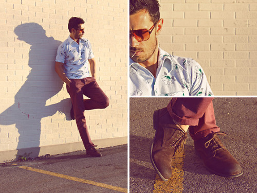 SUNGLASSES ALDO  SHOES STEVE MADDEN  PANTS TOPMAN  SHIRT VINTAGE
