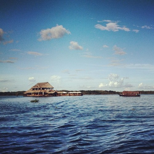 floating restaurant @ #iquitos #maynas #loreto #peru  (Taken with Instagram)