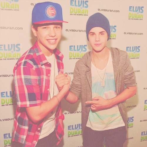 Justin and Austin Mahone