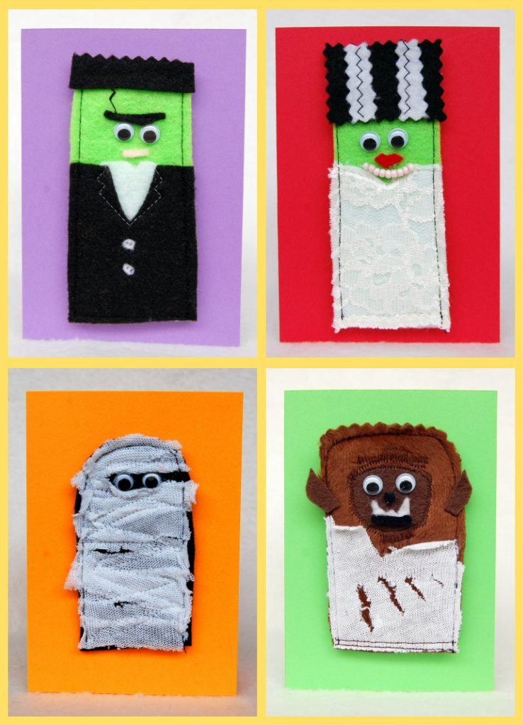 cryptofwrestling:  finger puppet notecards (by mr. huckleberry & the milosaur)