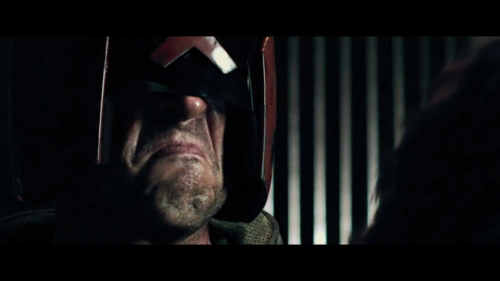 zoutman:  Karl Urban pretty much IS Dredd, yes?  Yes.