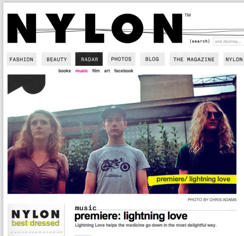 Our premier is in Nylon!