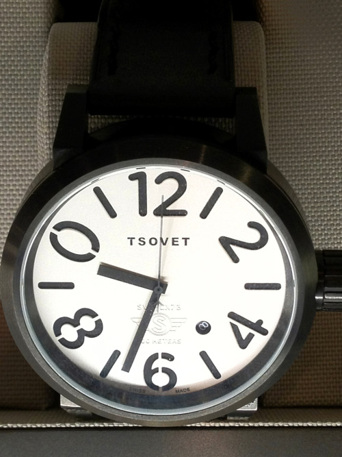 Modern statement watch from Tsovet for men.