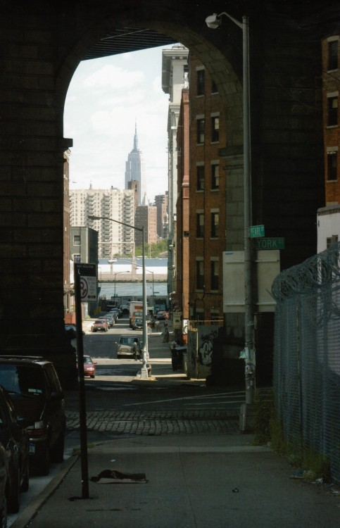 urbanmetaphysics:  New York City, c. 1999.