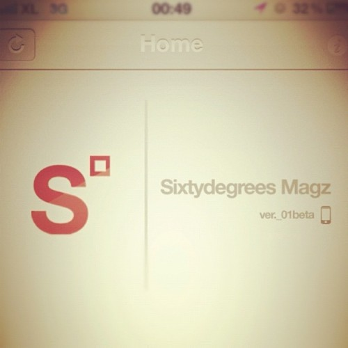 sxtydgrs app beta_version #sxtydgrs #iphone4 #iphoneonly #bdg #iphonesia #bandung #musik #sleepinholiday  (Taken with Instagram)