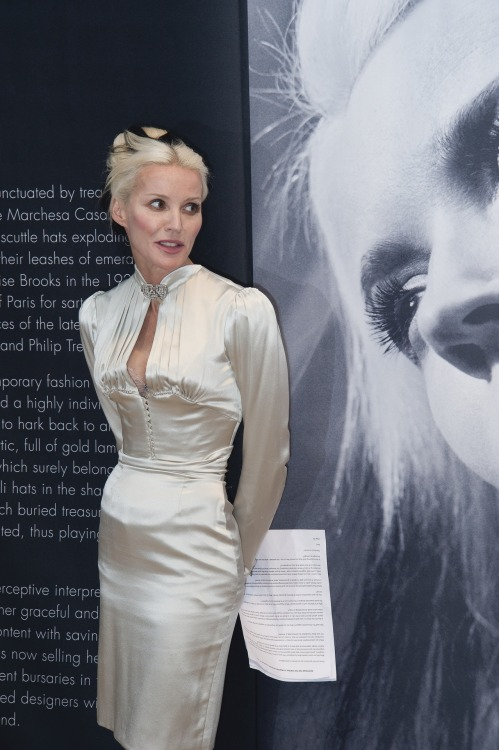 christiesauctions:  Daphne Guinness stopped by our London, South Kensington saleroom today to personally unveil highlights from her Private Collection. For viewing times, please click HERE