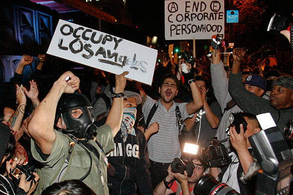Remembering the eviction of Occupy LA.
