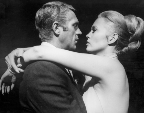 wehadfacesthen:  Steve McQueen and Faye Dunaway in The Thomas Crown Affair (Norman Jewison, 1968)